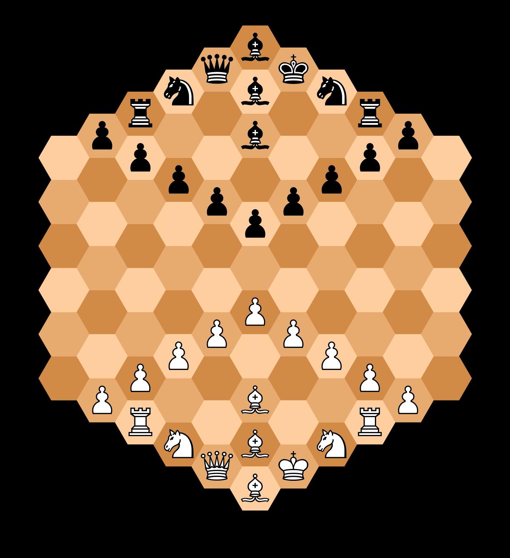 Honeycomb clipart hexagon. Hexagonal chess wikipedia