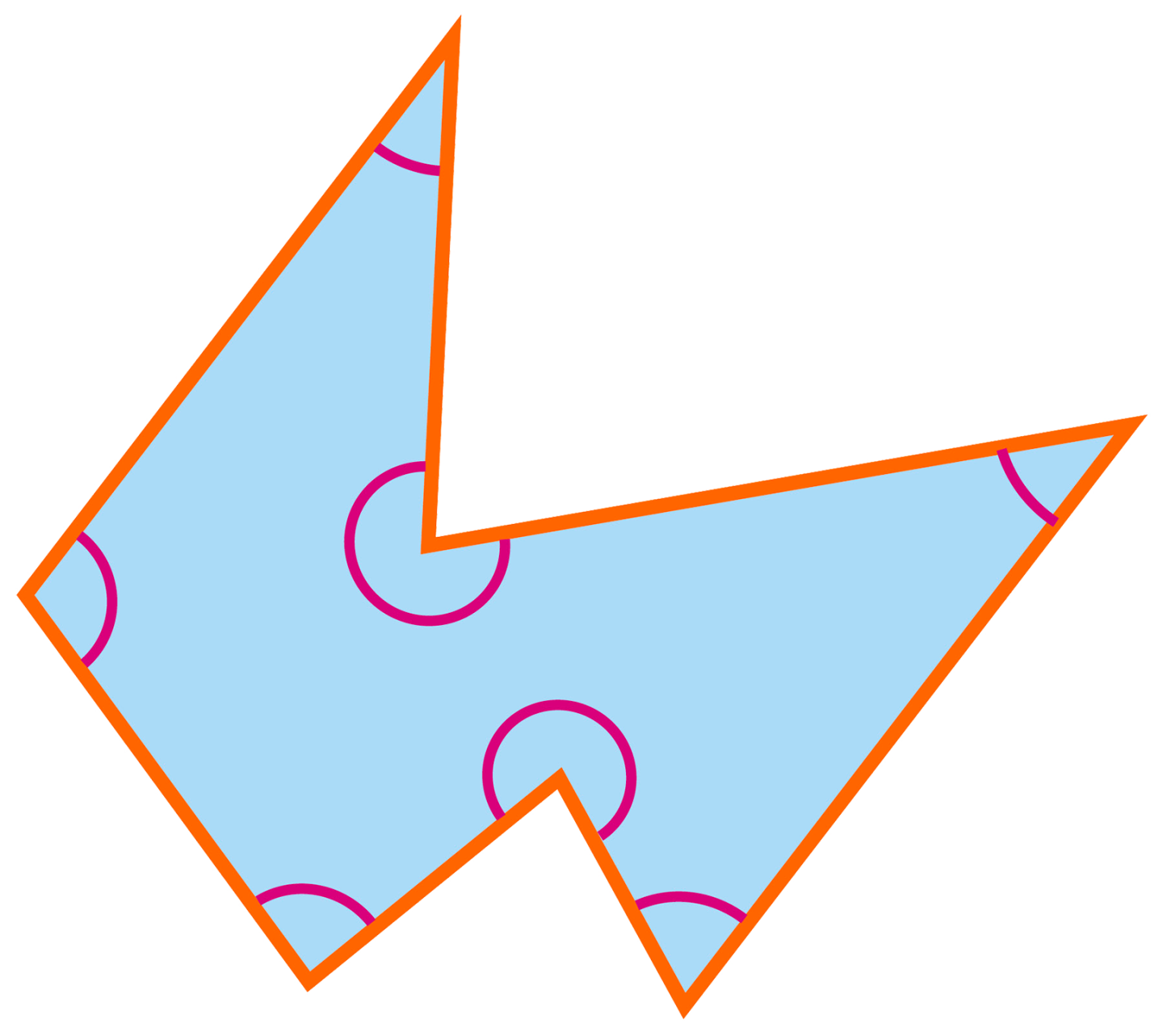 Hexagon clipart irregular. What is a heptagon