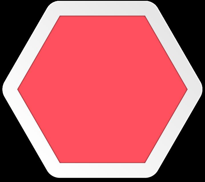 Png transparent free images. Hexagon clipart irregular