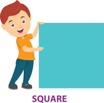 Free shapes clip art. Square clipart sqaure