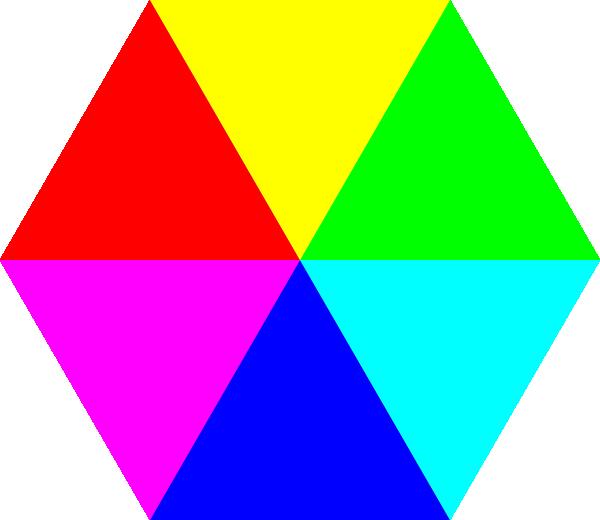 hexagon clipart large