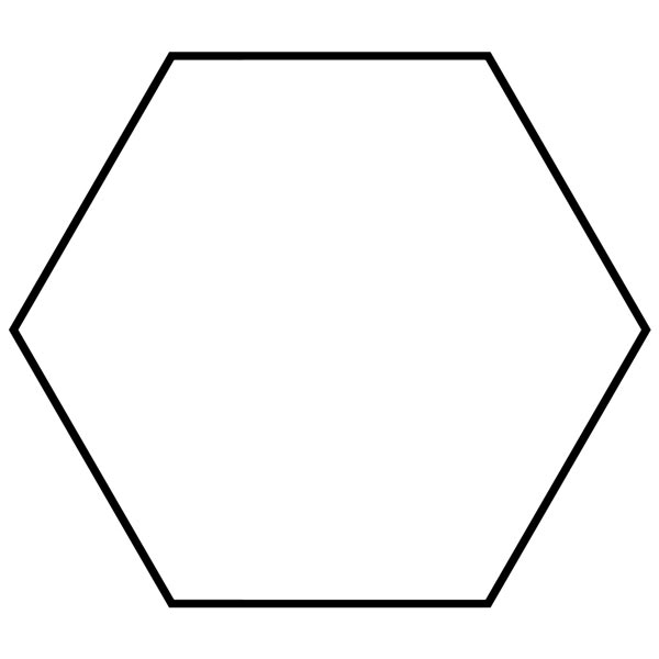 Hexagon clipart math. Picture images of shapes