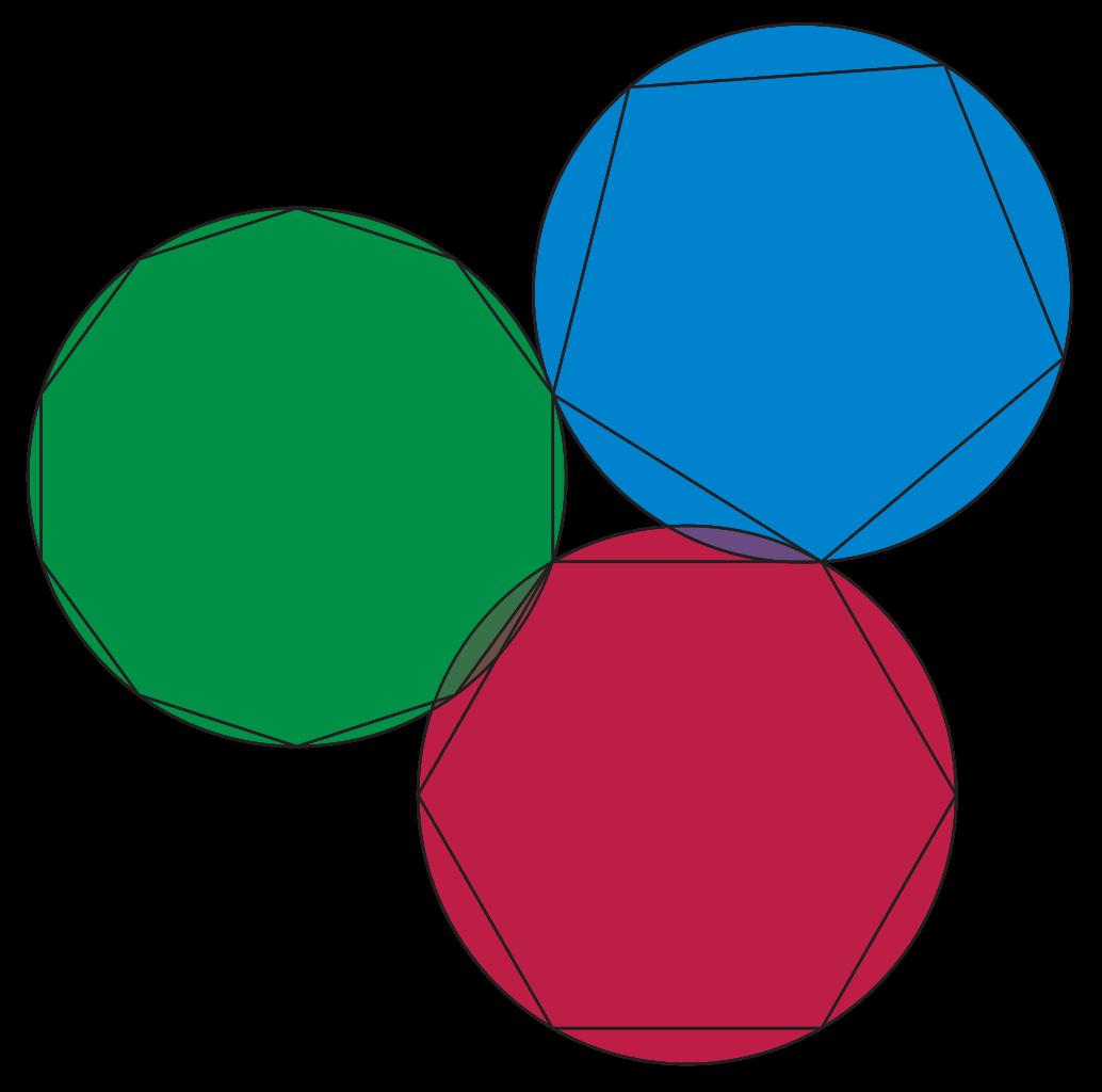 Hexagon clipart pixel art. File euclid xiii svg