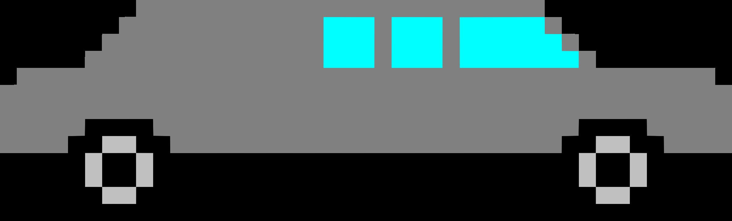Limousine icons png free. Hexagon clipart pixel art