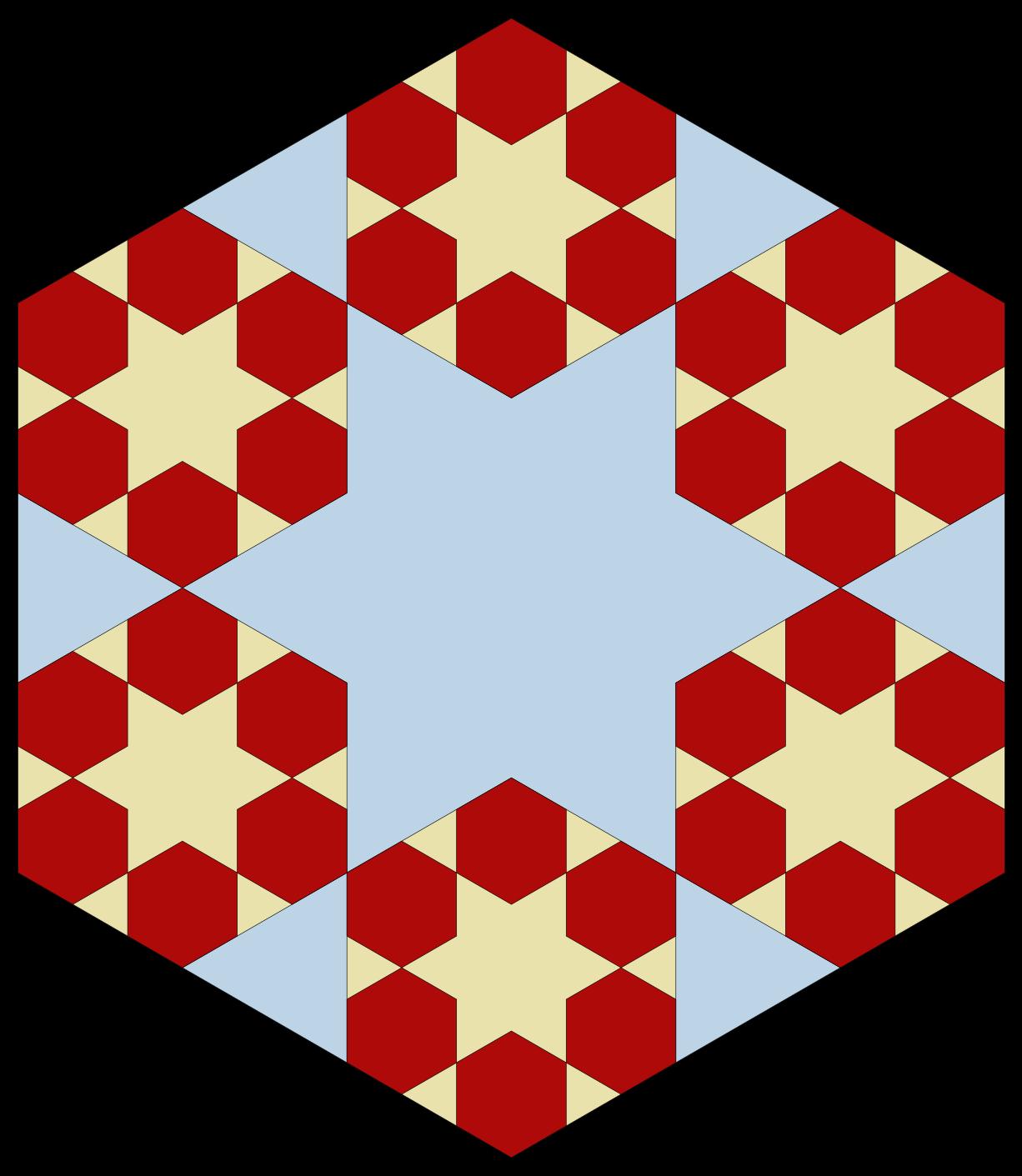 Hexagon clipart red. Github pganssle fractal plot