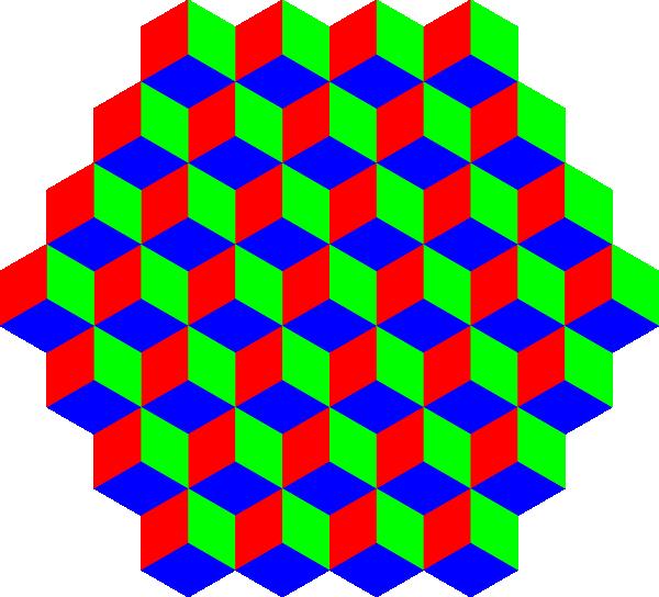 Hexagon clipart red.  d clip art