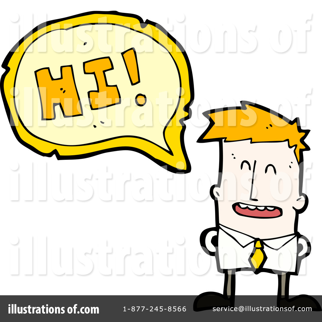 Hi clipart. Illustration by lineartestpilot royaltyfree
