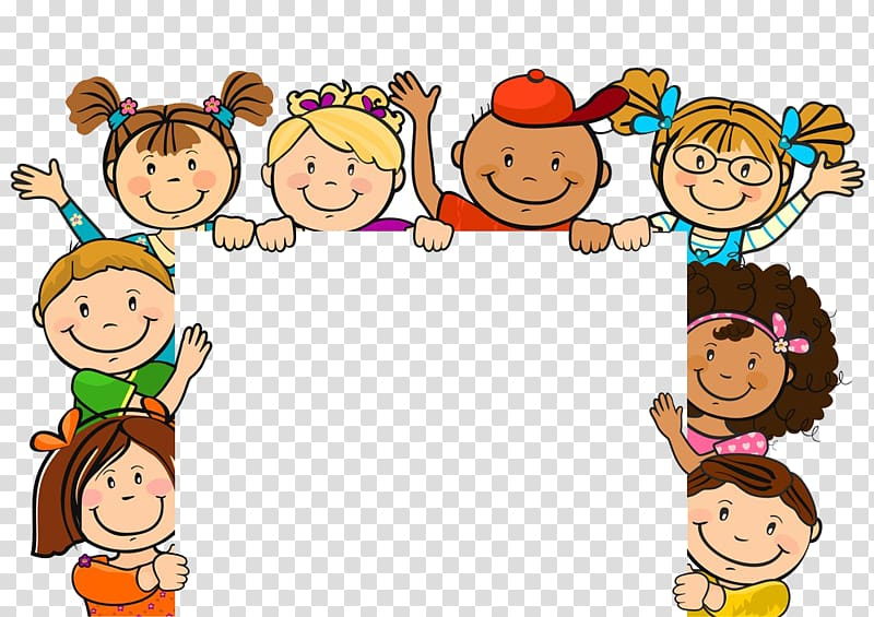 Kind clipart kids cartoon. Child illustration cute of