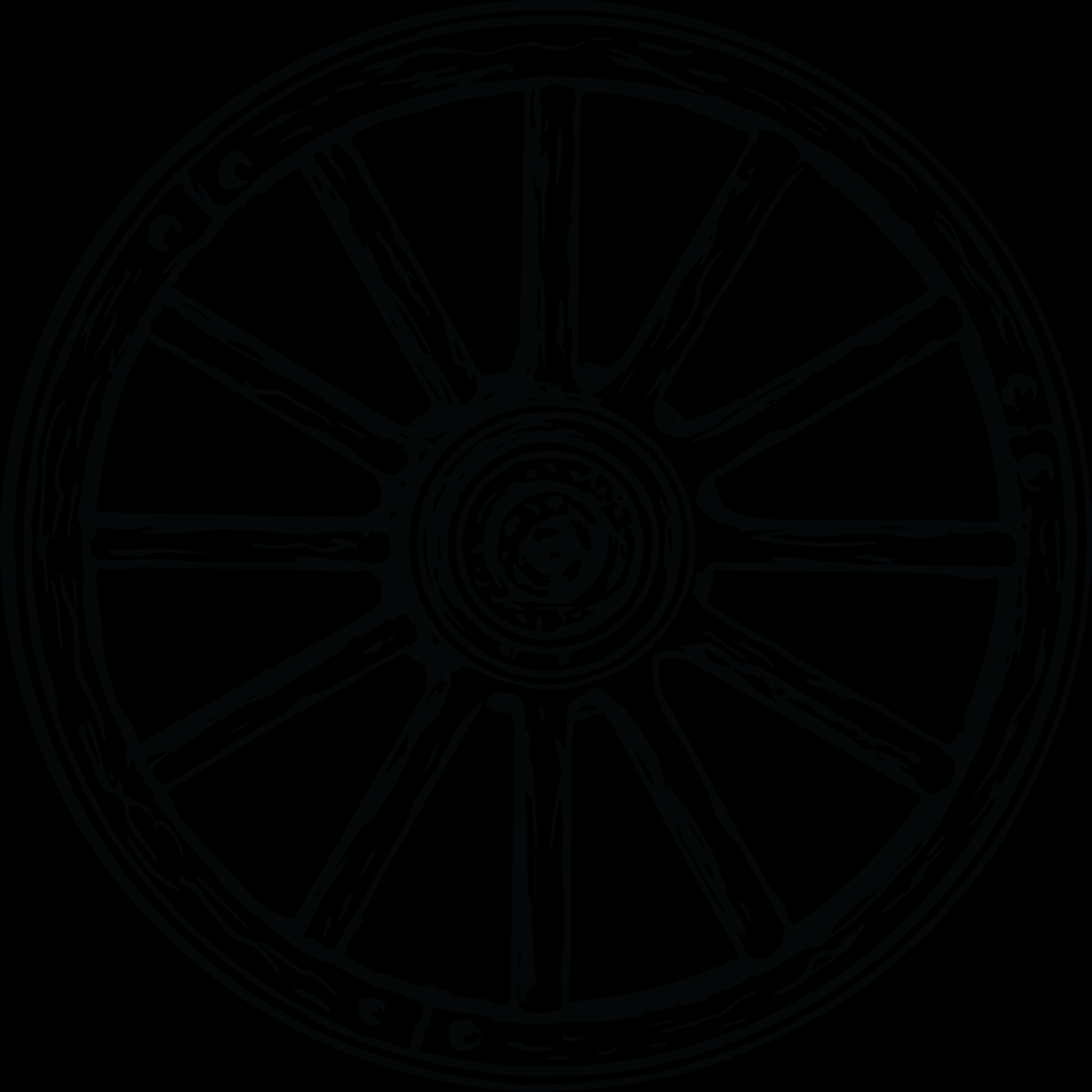 Wheel clipart bullock cart. Rim image group free