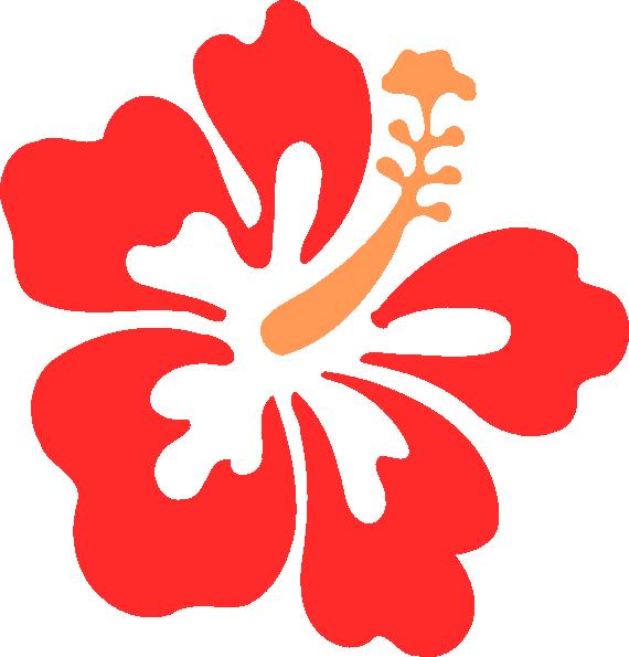 Hibiscus clipart. Clip art at clker