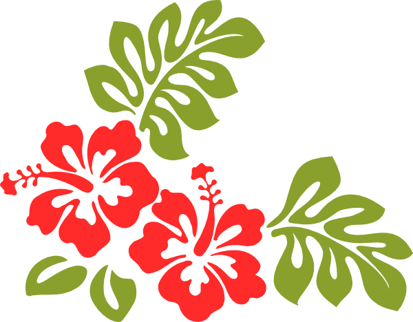 Clip art at clker. Hibiscus clipart