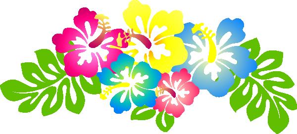Hibiscus clipart. Flower clip art vector
