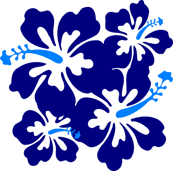 Hibiscus clipart blue hibiscus. Clip art at clker