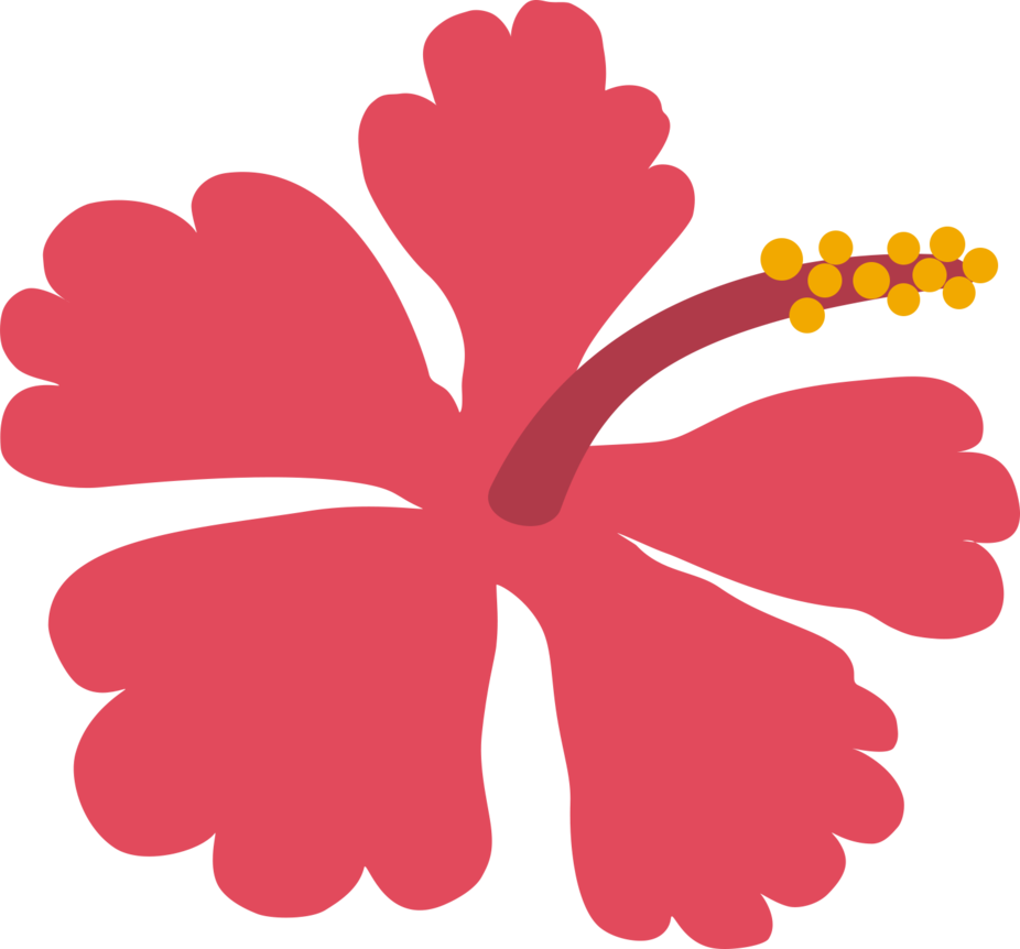 Hibiscus clipart flower samoan. Fa afafine by pride