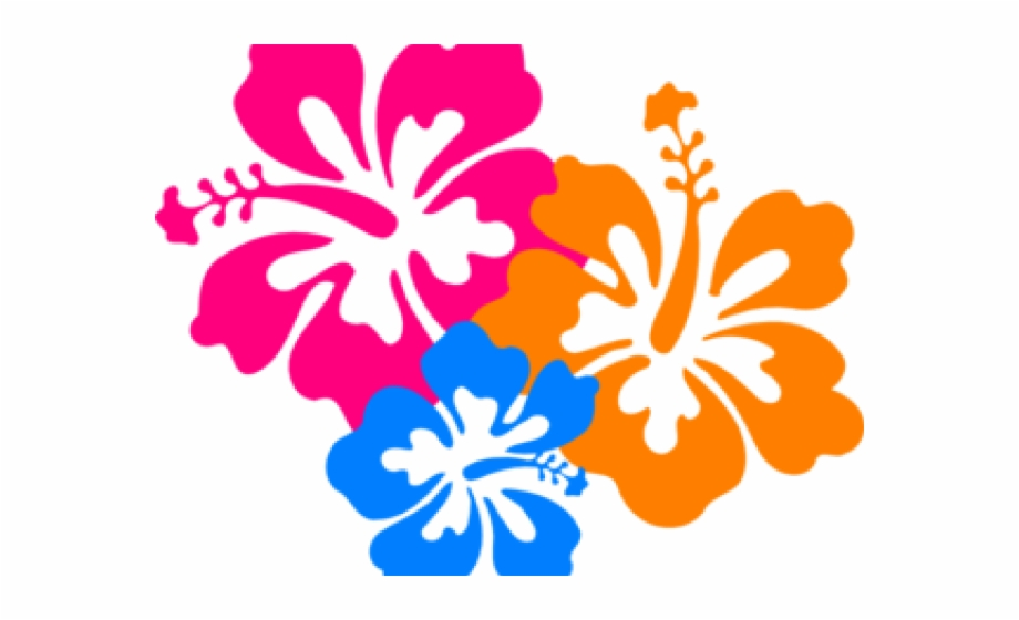 Hibiscus clipart hawaian. Bloom flowers clip art