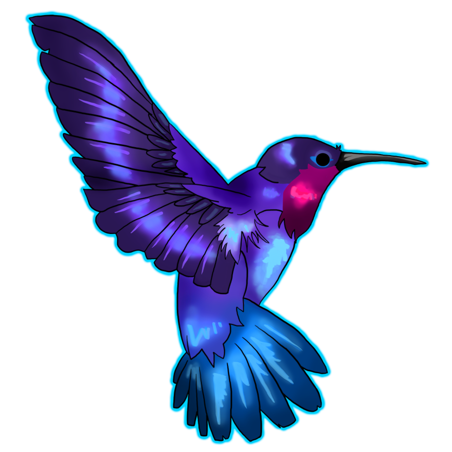 hummingbird clipart watercolor