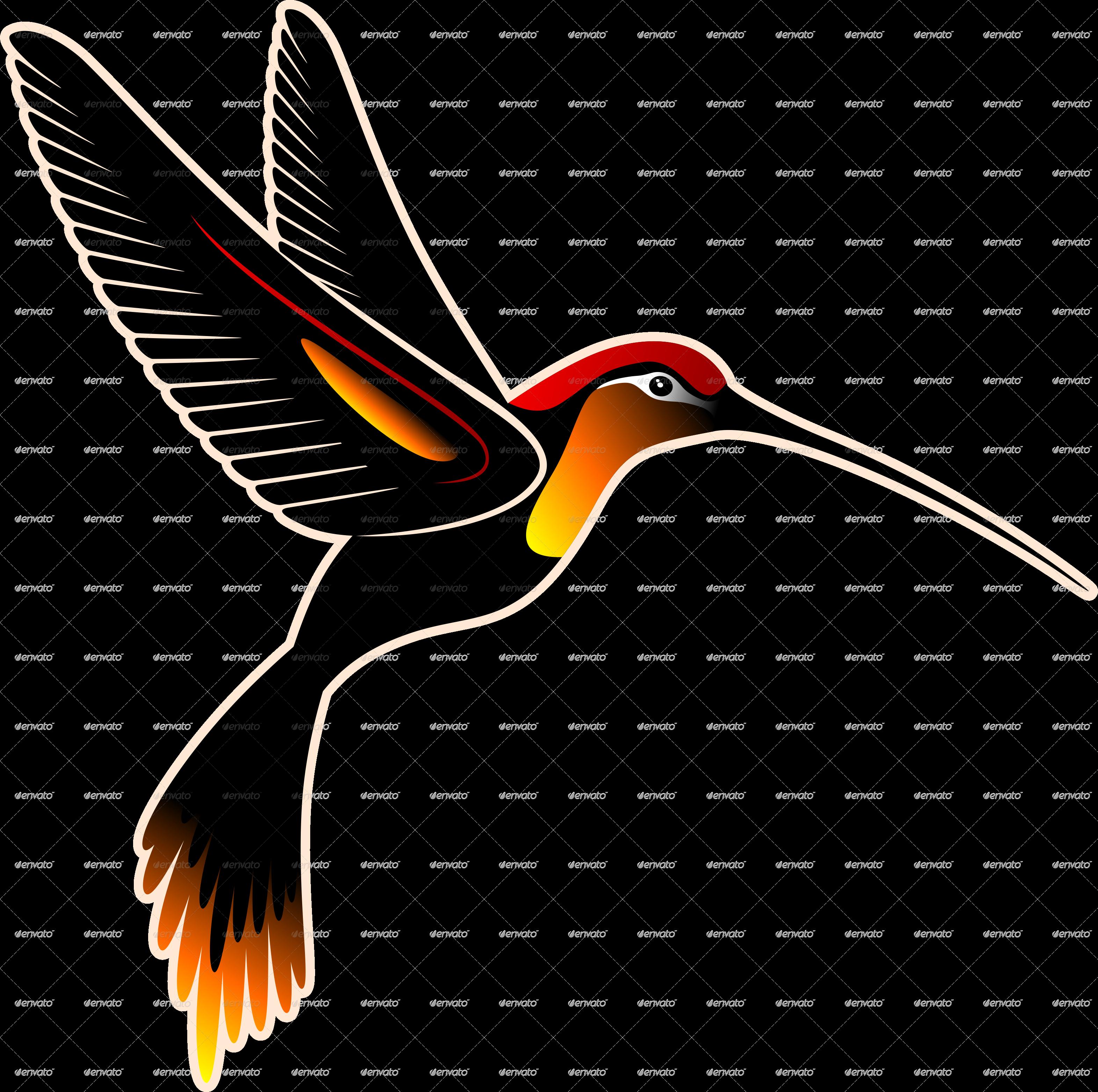 Hummingbird clipart rainbow. And hibiscus batik pattern