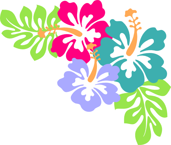 Pin by tiffany springer. Hibiscus clipart luau birthday