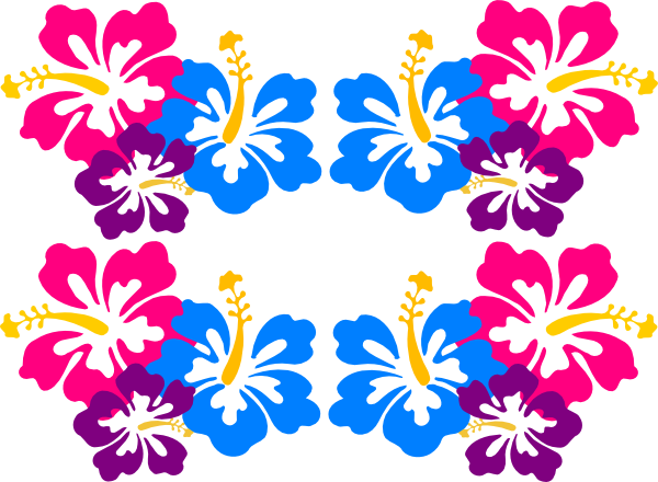Hibiscus clipart luau birthday. Clip art flower madelyn