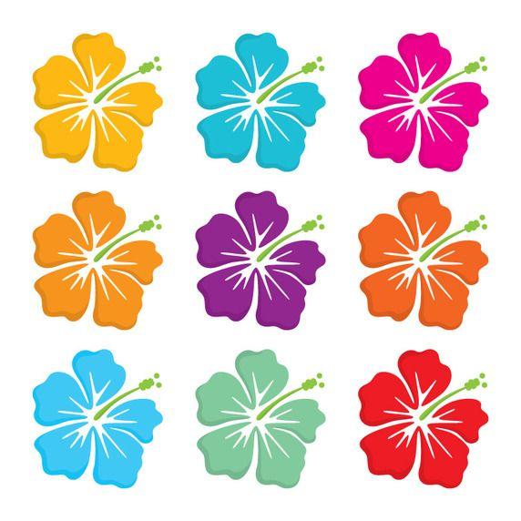 Hawaiian flower free vector. Hibiscus clipart polynesian