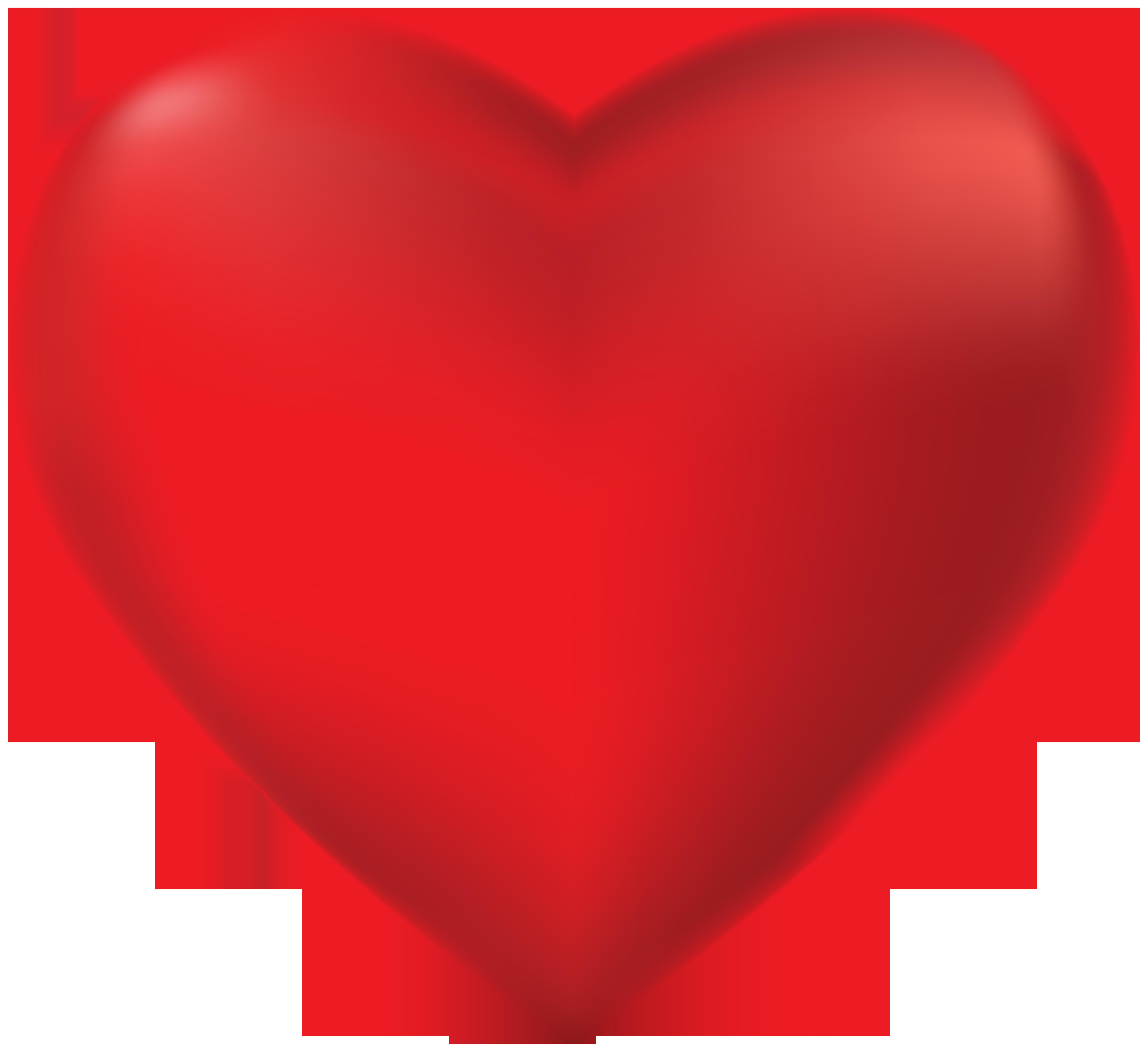 Red heart transparent png. Journal clipart ballpen