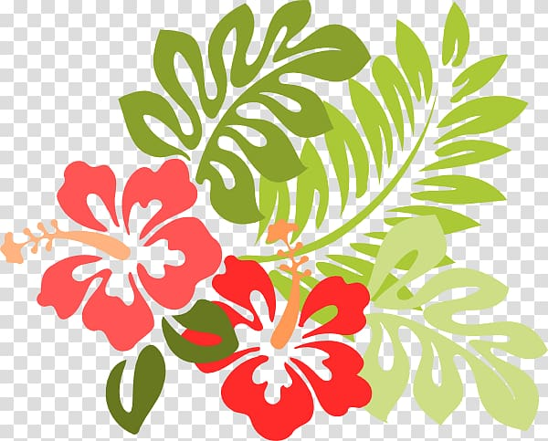 Hawaiian tropical line transparent. Hibiscus clipart wedding hawaii