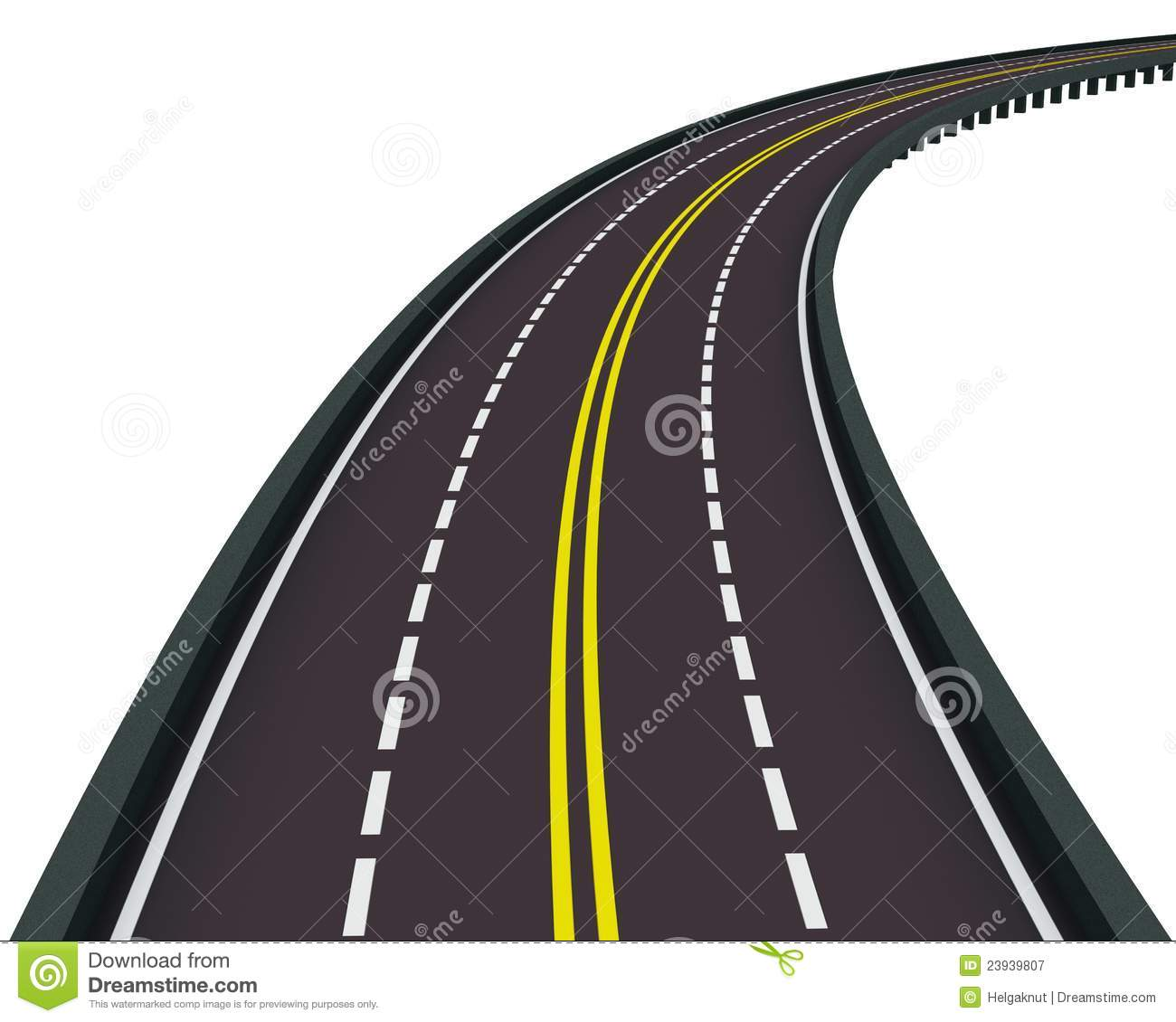 Clip art black and. Highway clipart