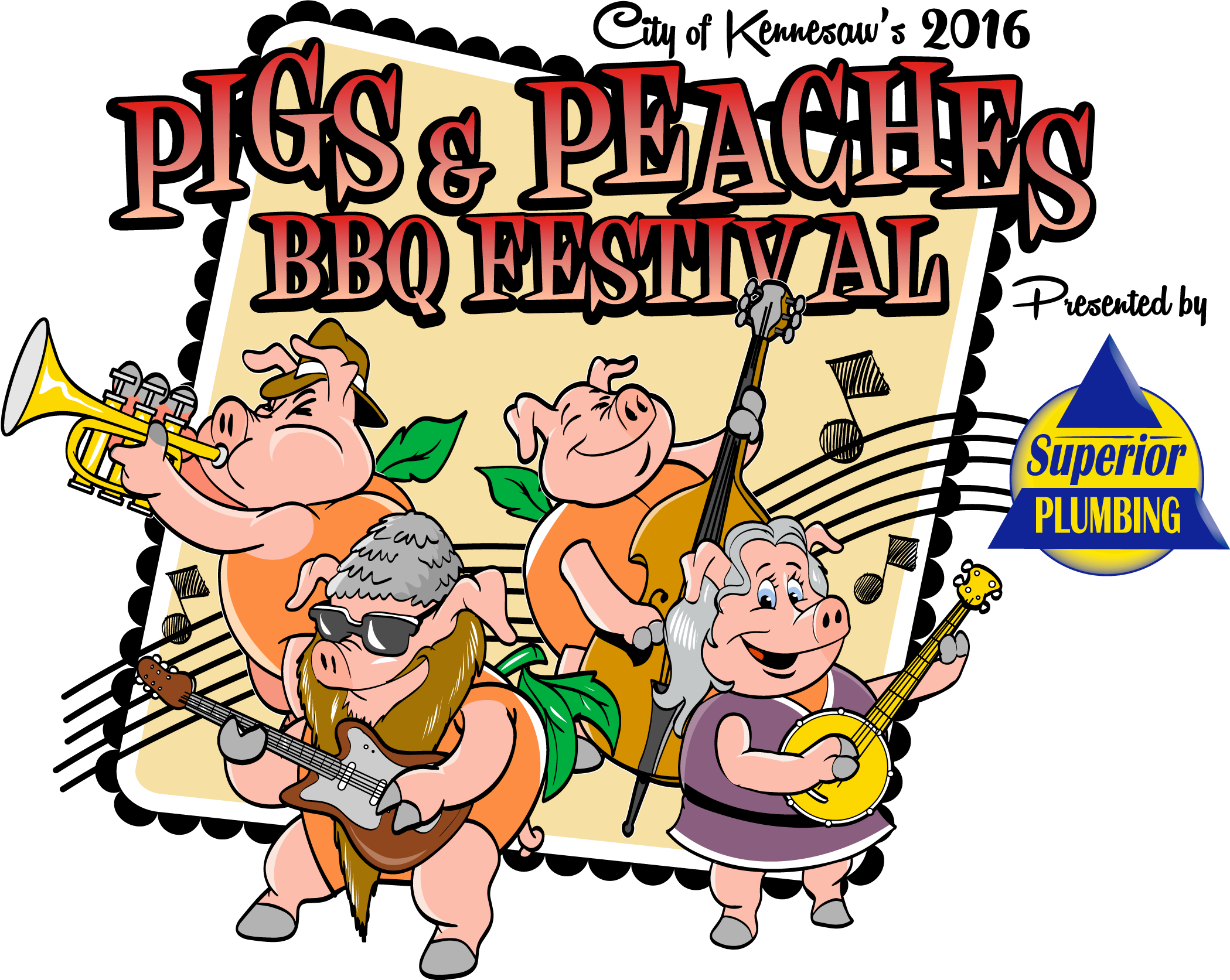 City of kennesaw bbq. Jazz clipart ragtime