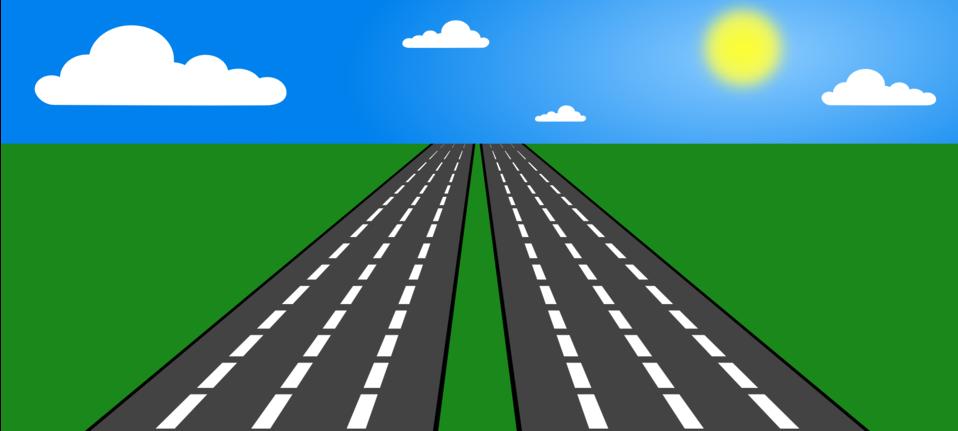 Public domain clip art. Highway clipart expressway