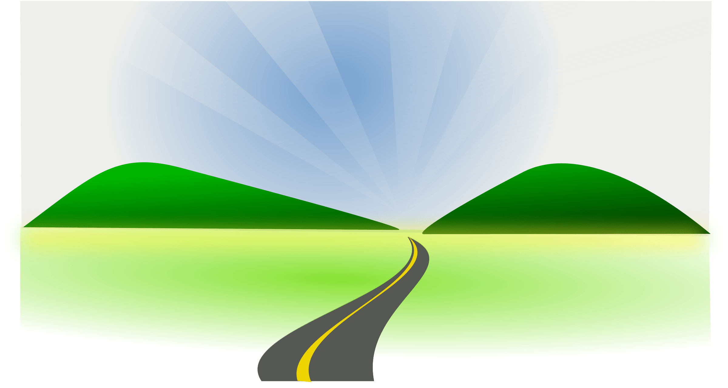 Highway clipart highway exit. Horizontal hanslodge cliparts