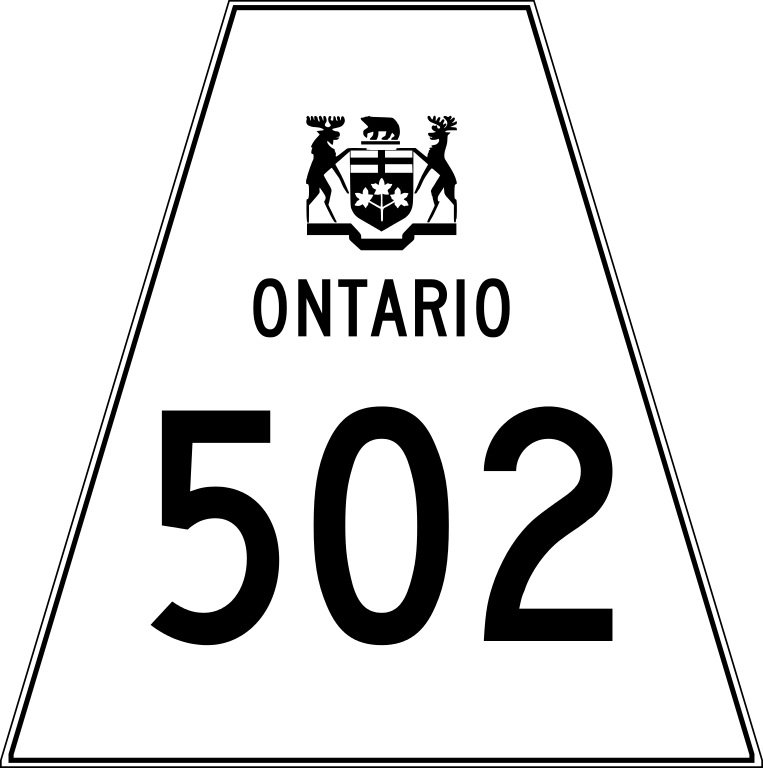 File ontario svg wikipedia. Highway clipart highway line
