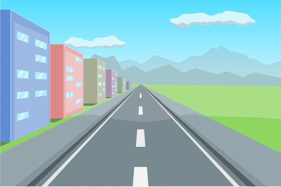 Highway clipart long road. Free download clip art