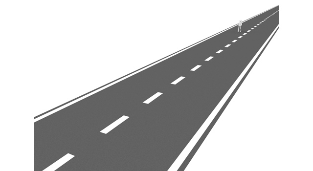 Way direction peoples free. Highway clipart long road