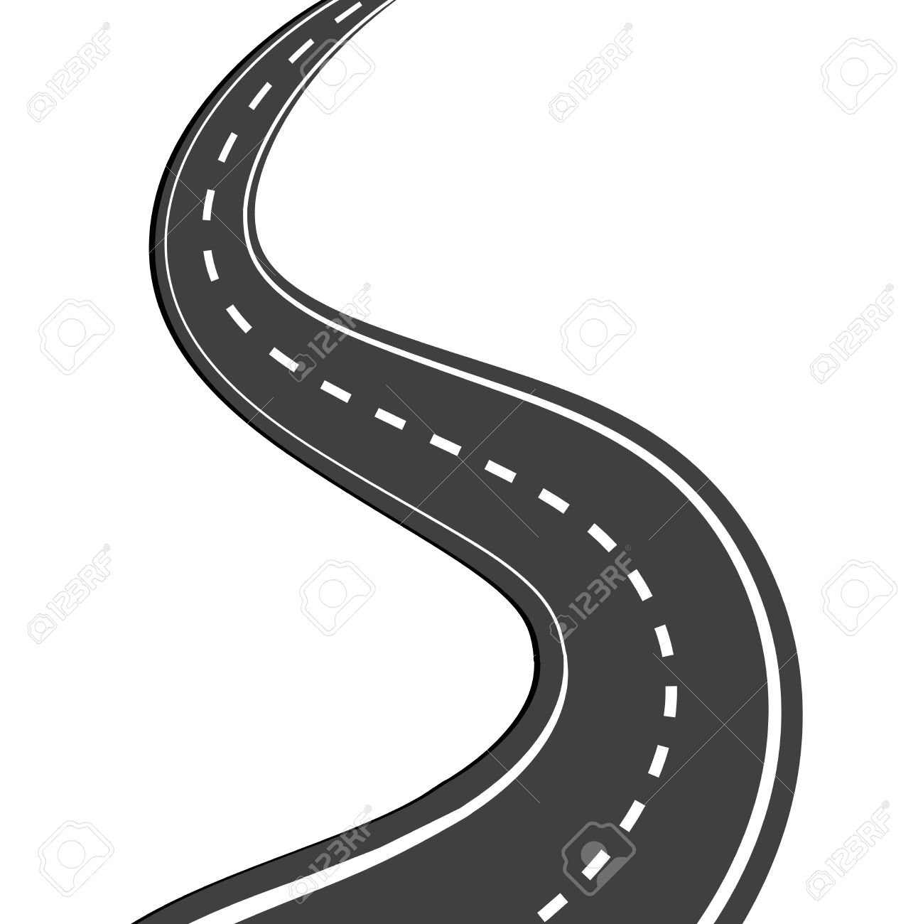 Free download clip art. Highway clipart long road
