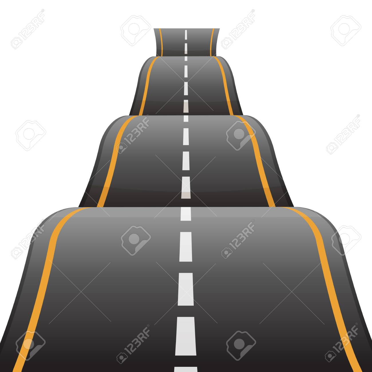 Highway clipart rough road. Free download clip art
