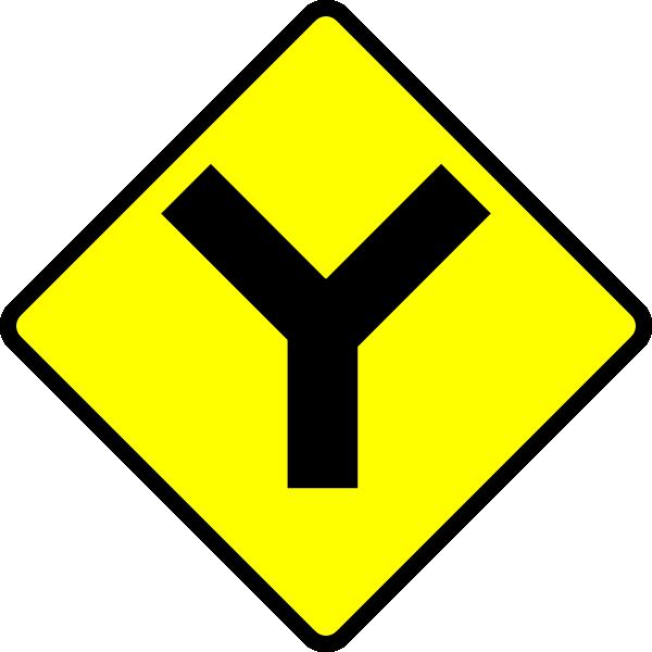 Y road clip art. Highway clipart route