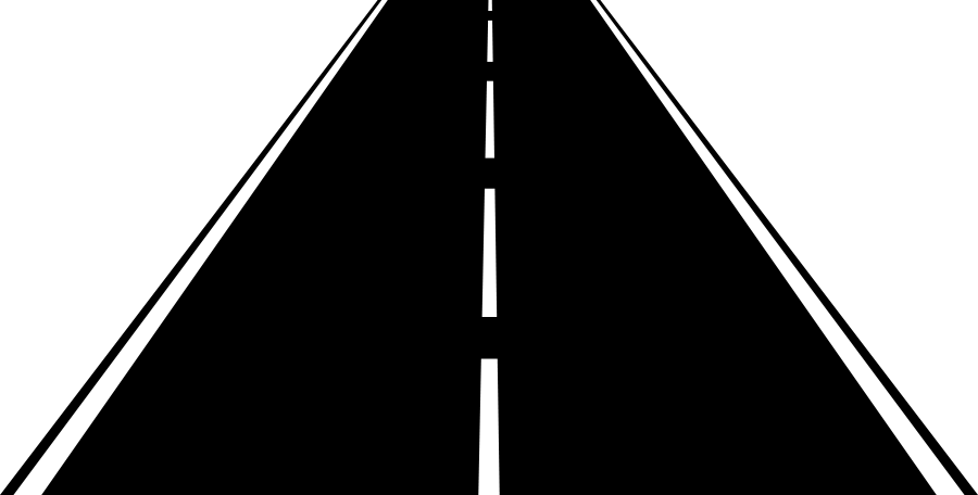 Trail clipart highway.  collection of straight