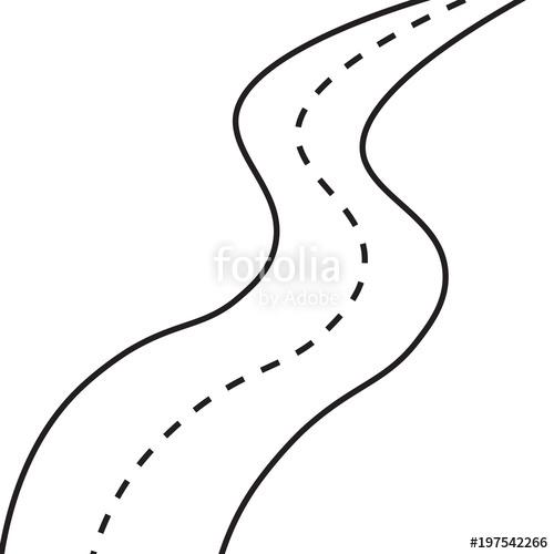 Highway clipart simple road, Highway simple road ...