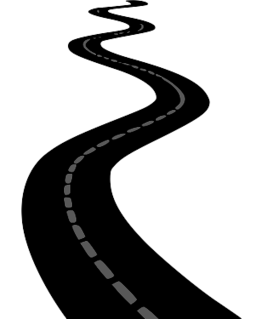 Free road outline cliparts. Trail clipart lane