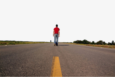 Highway clipart walking road. Download free png people