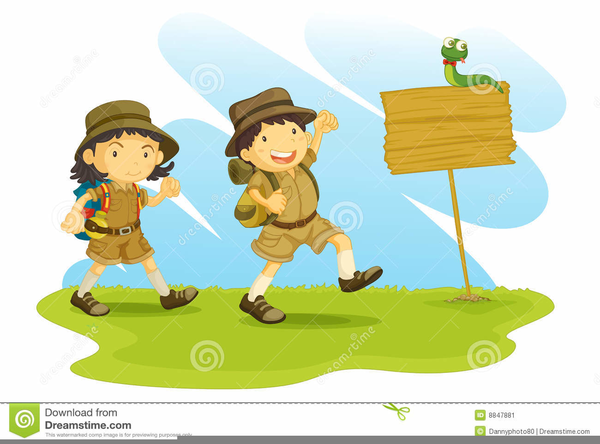 Hike clipart. Cub scout free images