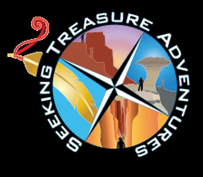 Seeking treasure adventures halfday. Hike clipart adventure tourism