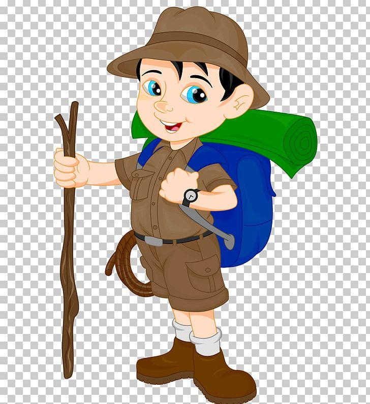 Hiker clipart animated. Hiking cartoon png art