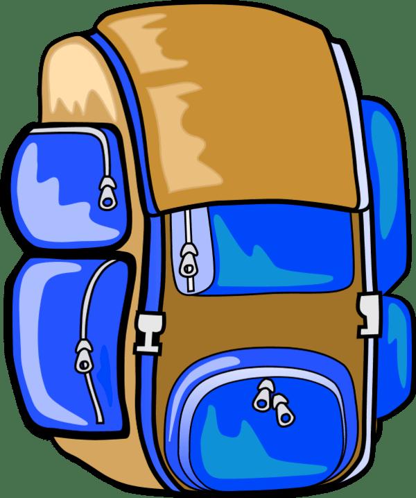 Hiking clipart backpacker. Disclosure self reliance popupbackpacker