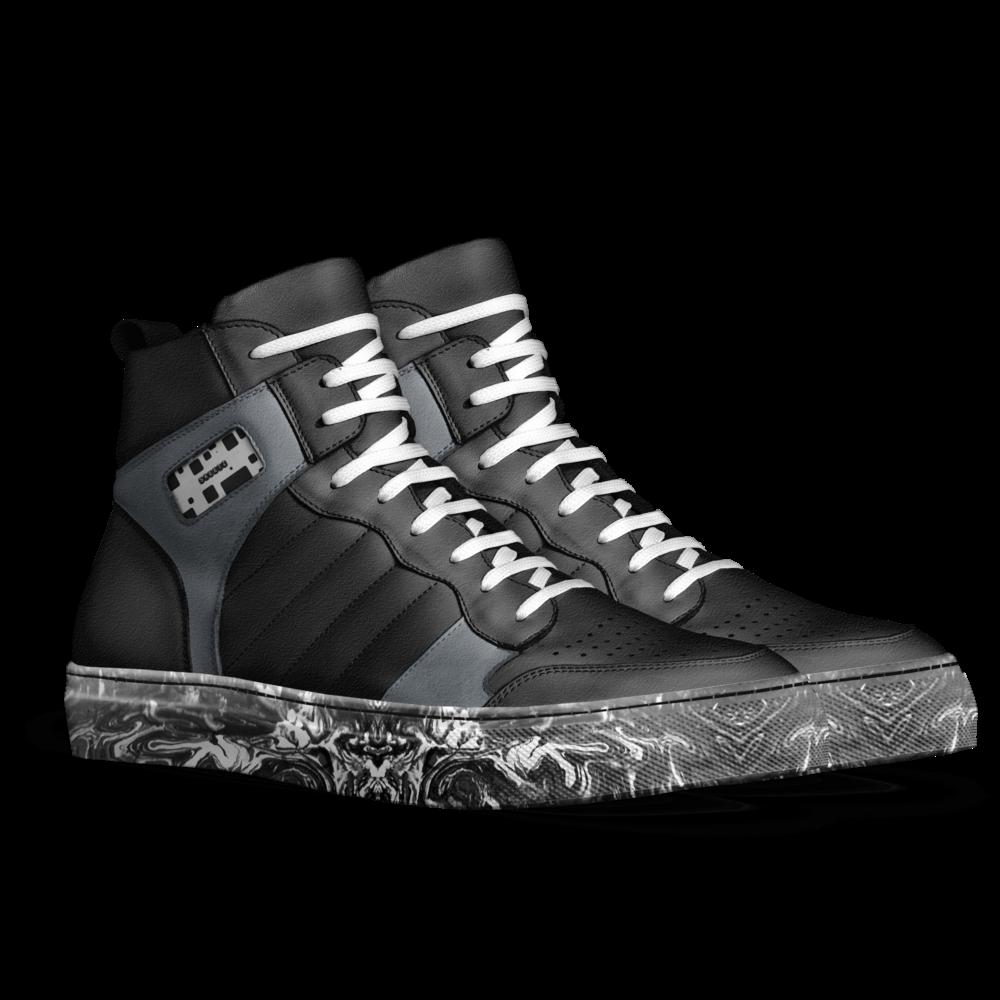 Skeetz a custom shoe. Hike clipart boot