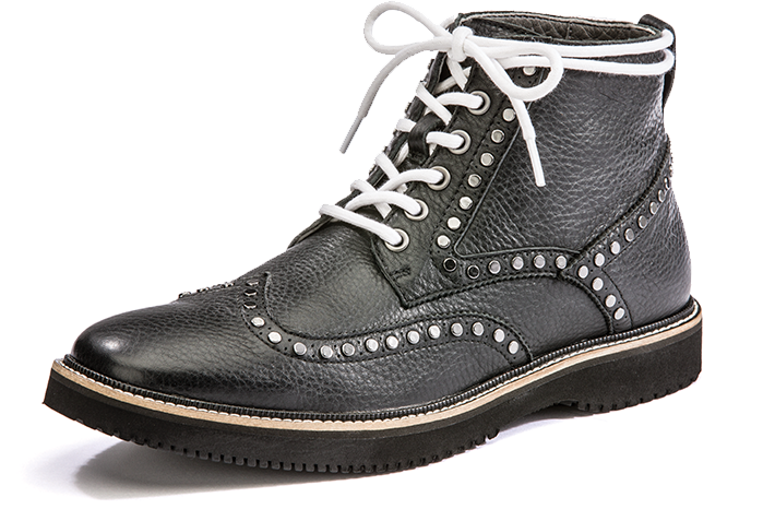 Men decades collection hush. Hike clipart brown boot