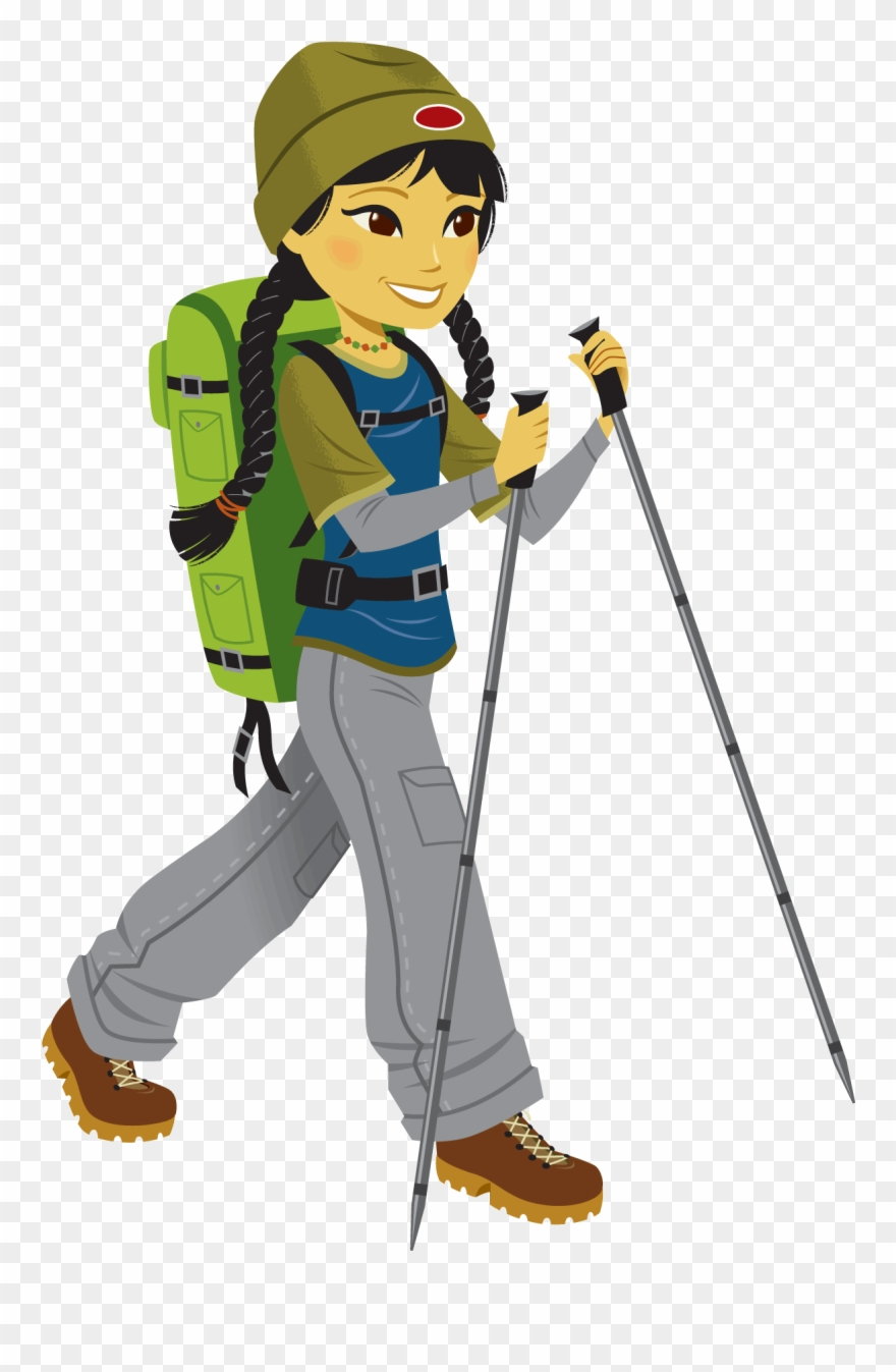 Library stock climbing clip. Hike clipart cartoon