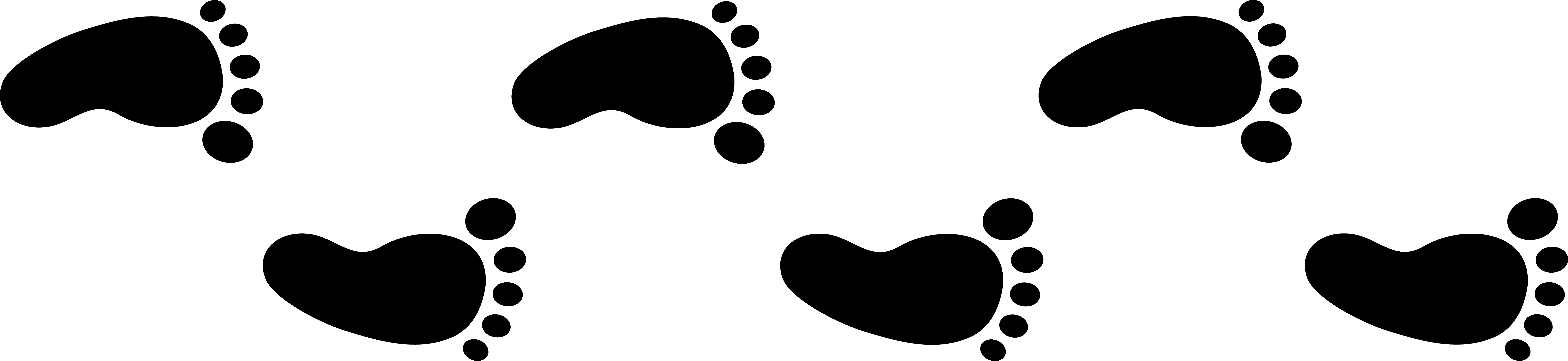 Past news and events. Hike clipart footprint