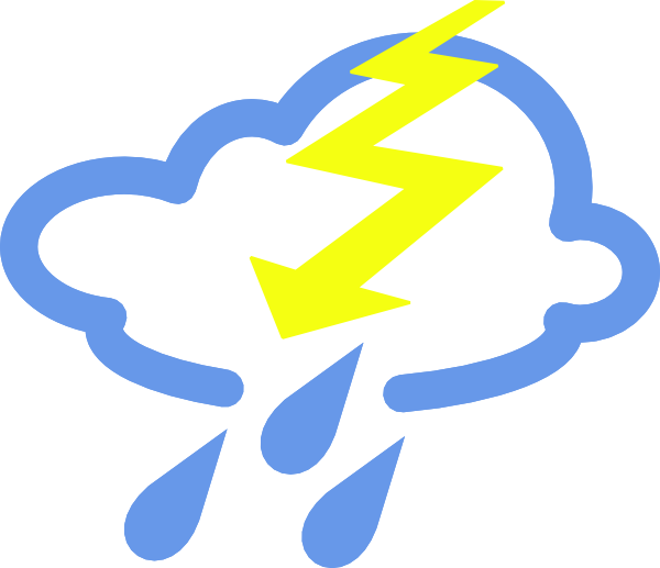 Free vector thunder storms. Hike clipart montagne