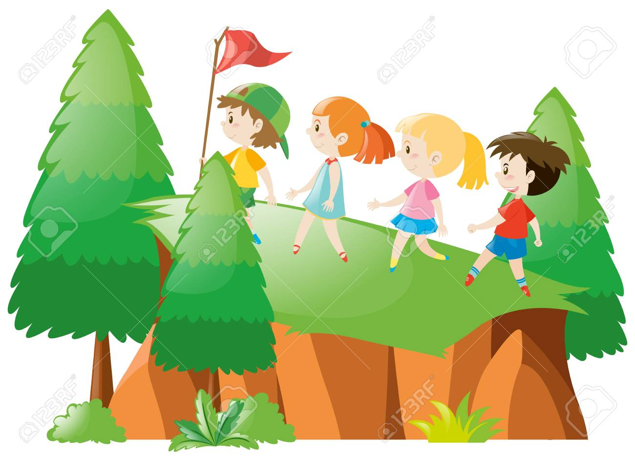 Hike clipart montagne. Free hiking moutains download